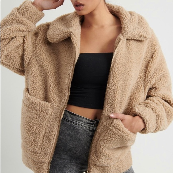 Sherpa Teddy Jacket